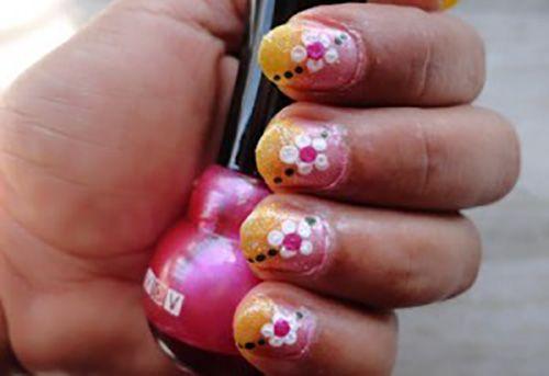 How To Do Nail Art At Home Short Nails Art And Short Nails
