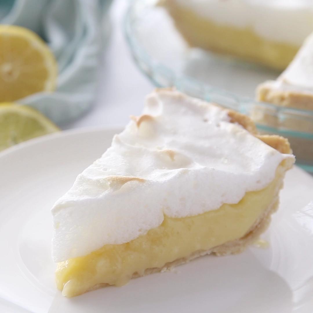 Lemon Meringue Pie #lemonmeringuecheesecake