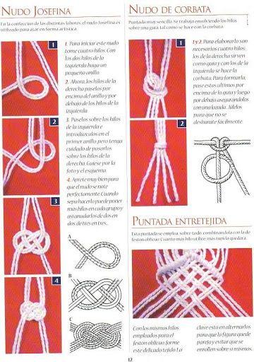 d595c88fdde5 Bordado faciles macrame paso a paso - Marleni Fontaine - Picasa Web ...
