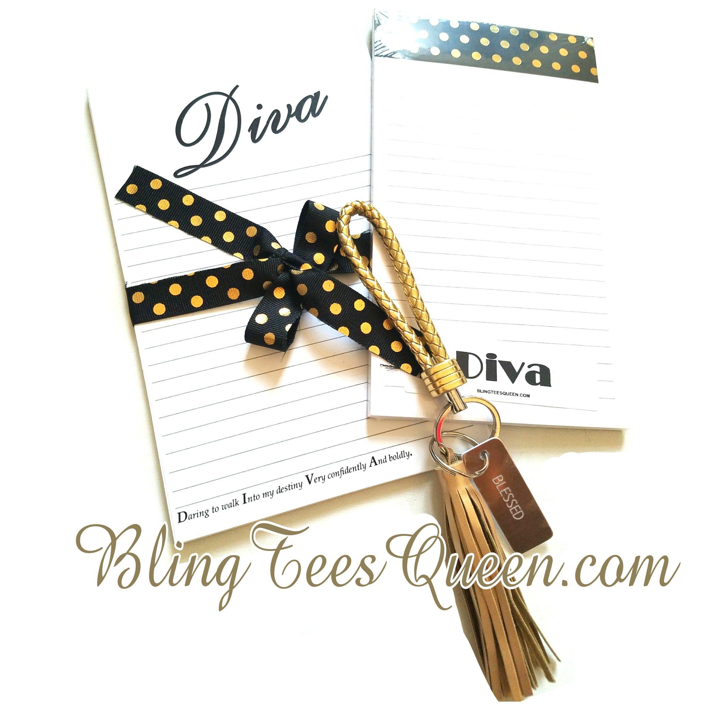 Diva Glam 3Piece Desk Set Bling tees, Desk set, Place