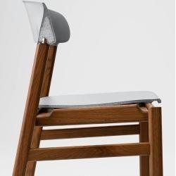 Photo of Normann Copenhagen Herit chair dark stained oak sand Normann CopenhagenNormann Copenh