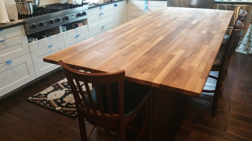 Ikea Hammarp Oak Countertops Treated With Mineral Oil Http Ths