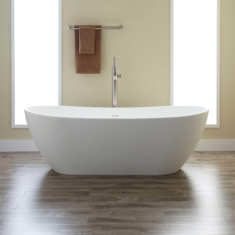 freestanding tub end drain. Boyce Acrylic Freestanding Tub  tub Solid surface and