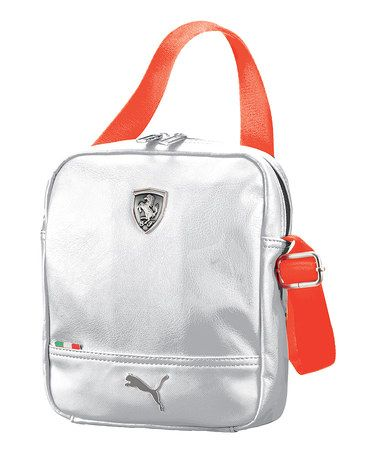 db5eaf6729 White Ferrari LS Portable Crossbody Bag by PUMA #zulily #zulilyfinds ...