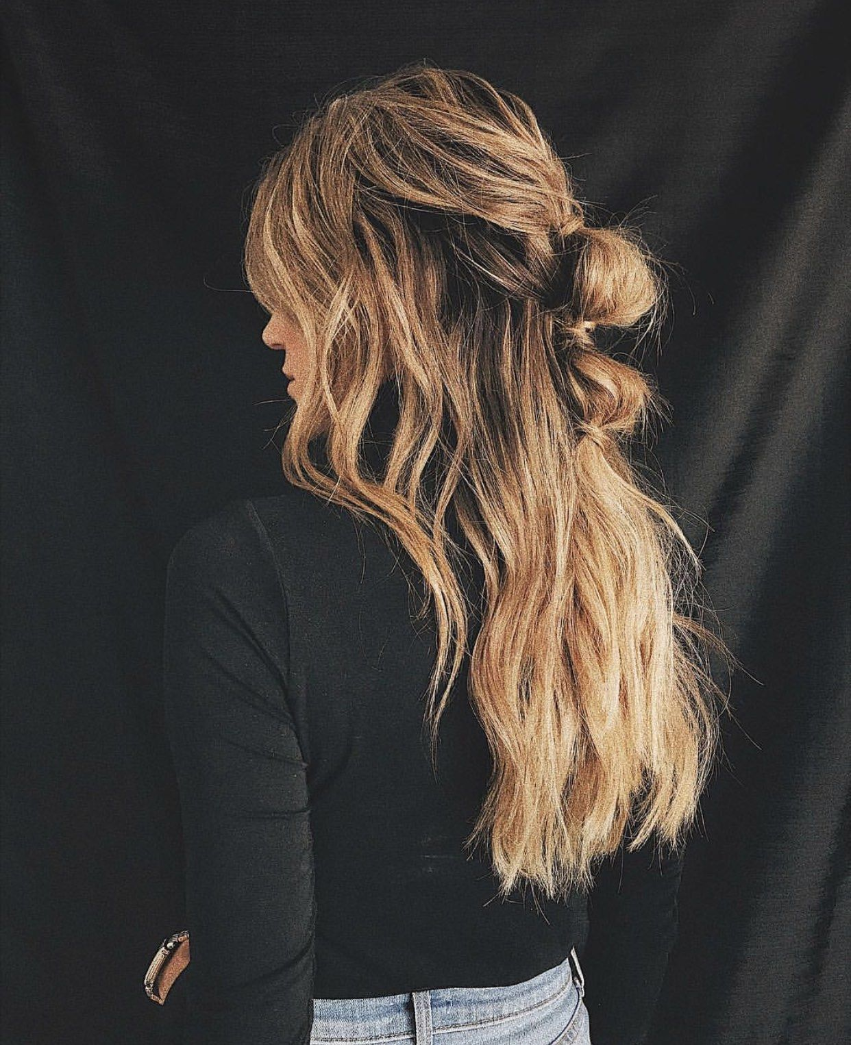 My 5 Most Pinned Hairstyles On Pinterest Long Hair Styles Messy Beach Hair Hair Styles