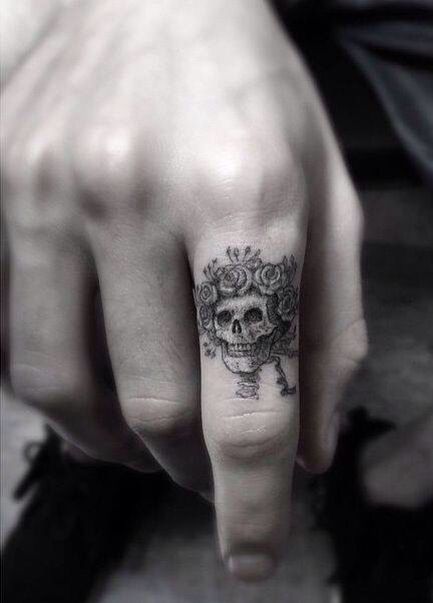 Skull Finger Tattoos : skull, finger, tattoos, Skull, Finger, Tattoo, Small, Tattoos, Guys,, Tattoos,
