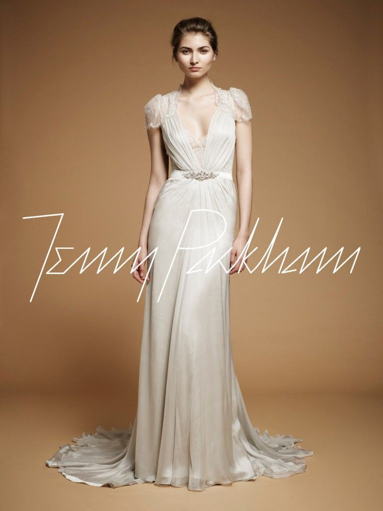 Found The Jenny Packham Aspen Dress In White With The Full Lace Back This Is My Dress Brudekjole Kjole Bryllup