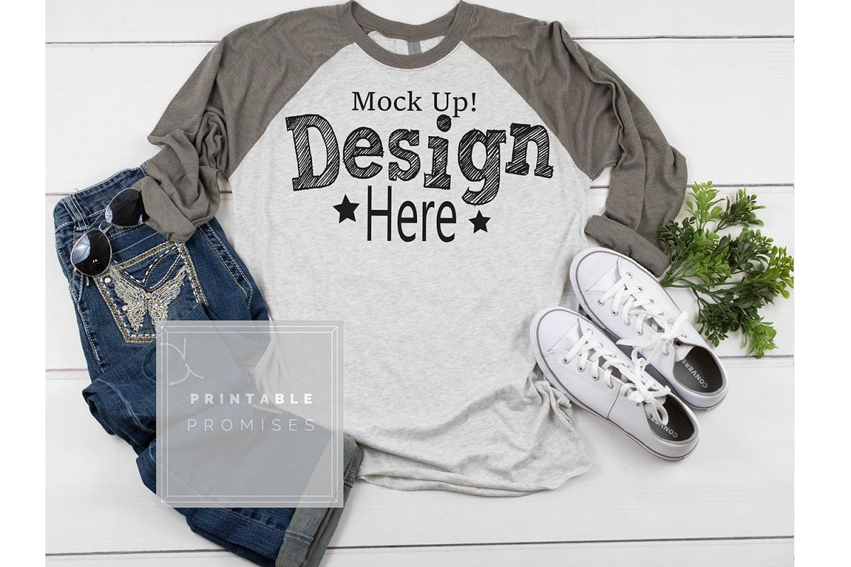 Download Raglan Mockup Shirt Mockup Next Level Grey Shirt Mockup 153964 Mockups Design Bundles Grey Shirt Raglan Shirts Shirt Mockup