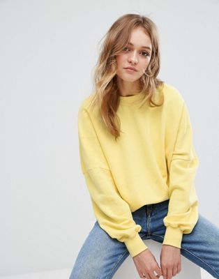 3d4295940 light yellow pullover and medium wash jeans