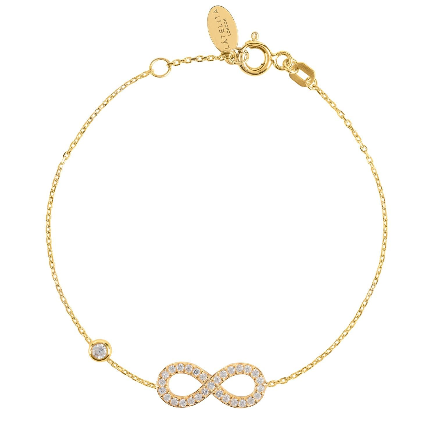 This Simple Yet Chic Eternity Bracelet Is Perfect For Everyday Styling Either Worn Singularly
