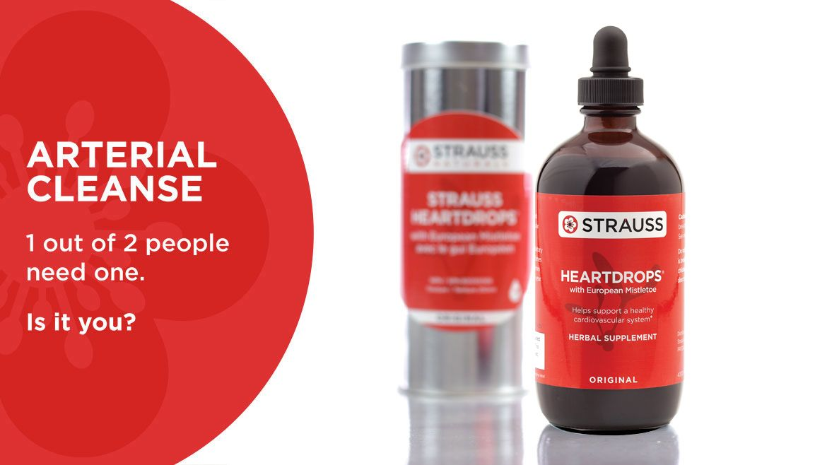 Claim Free Bottle of Strauss Naturals Heartdrops!! • Canadian Savers