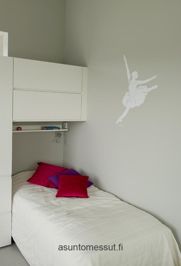 Aeroc-kivitalo Louhi - Makuuhuone 4 | Asuntomessut