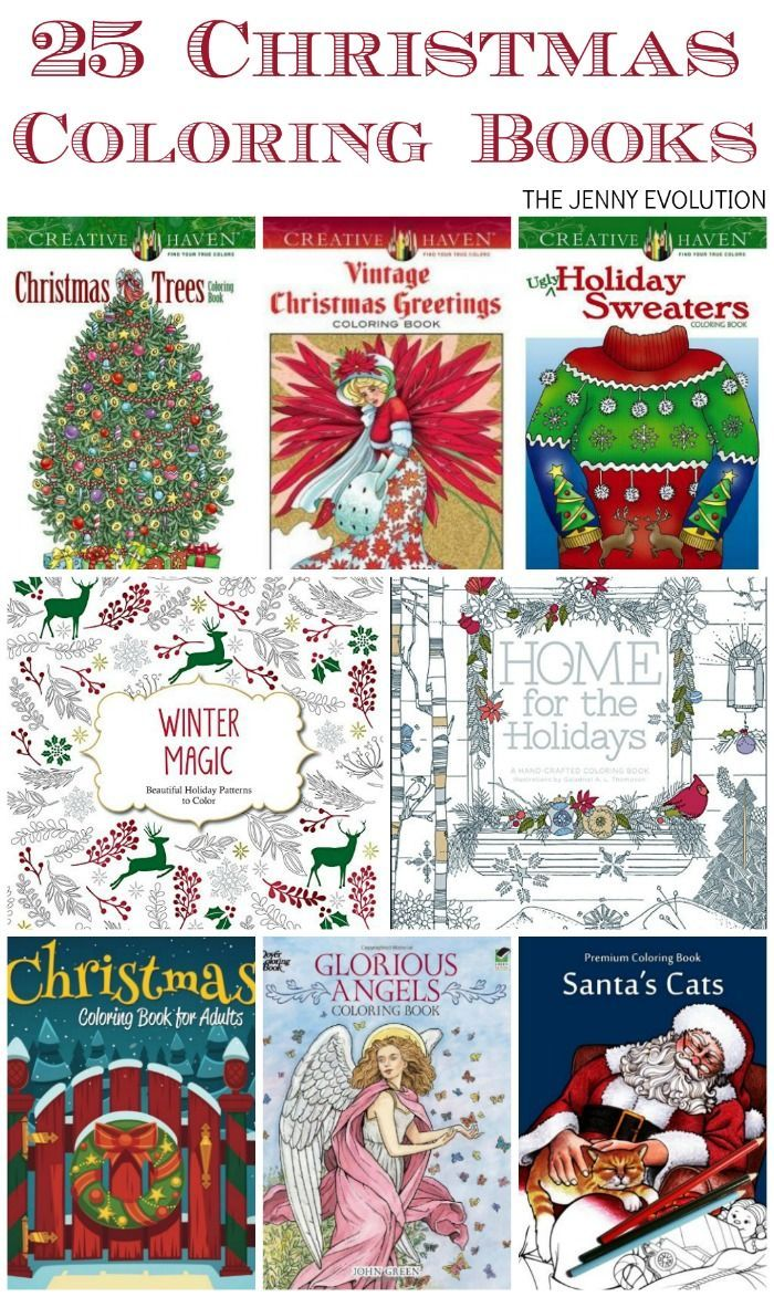 25 Adult Christmas Coloring Books | Coloring books, Holidays and ...