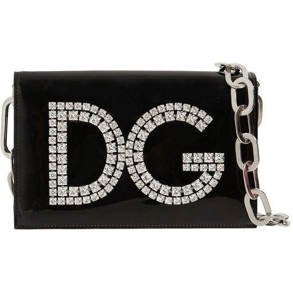 DG Girls patent leather shoulder bag Dolce & Gabbana 228DQ5