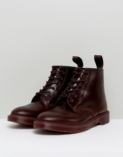 50% price info for exclusive deals Dr Martens 101 BR 6 Eye Color Block Boots | Dr. Martens ...