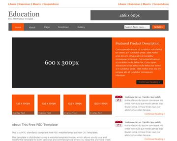 Php Website Templates Schools Website Sample Website Sample Example Free Download