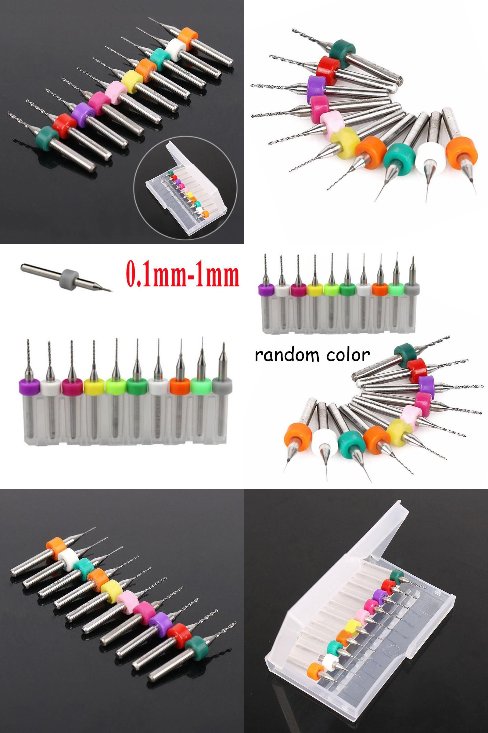visit to buy] 10pcs set hard alloy pcb carbide drill bits 0 1mm 1 0[visit to buy] 10pcs set hard alloy pcb carbide drill bits 0 1mm 1 0mm print circuit board carbide micro drill bit tool set advertisement