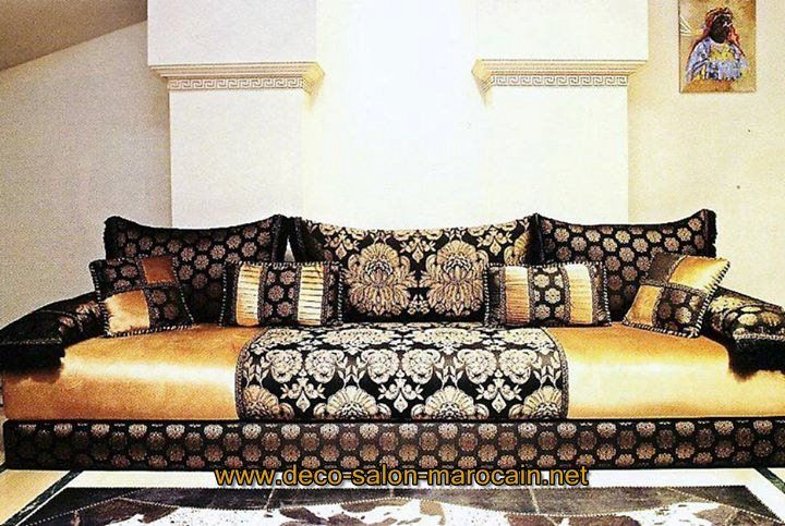 matelas salon marocain d co salon marocain salons marocains pinterest salons marocains. Black Bedroom Furniture Sets. Home Design Ideas