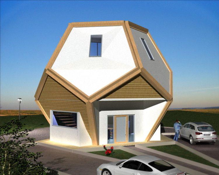 Cad eins pentagondodekaeder pinterest - Casas de madera y mas com ...