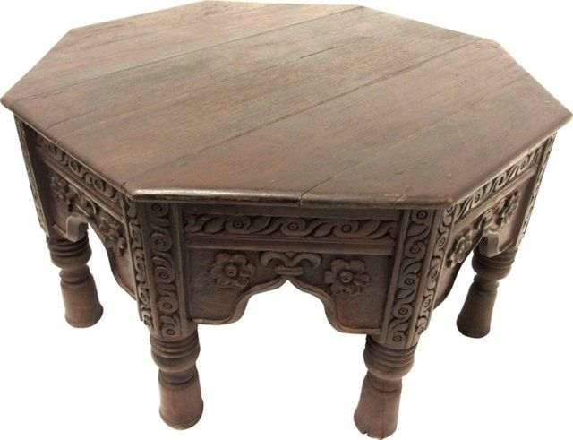 Indian Octagonal Coffee Table