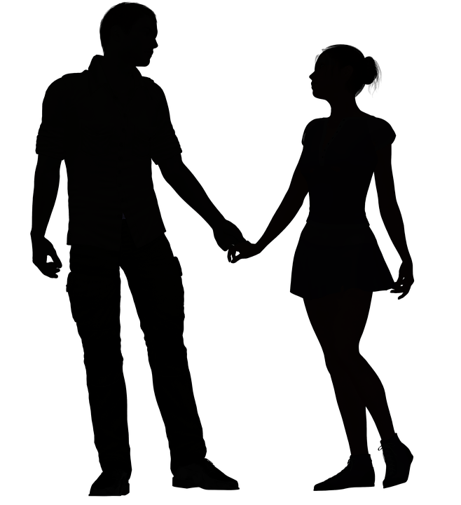 Free Image On Pixabay Couple Romance Love Romantic Man And Woman Silhouette Silhouette Couple Silhouette