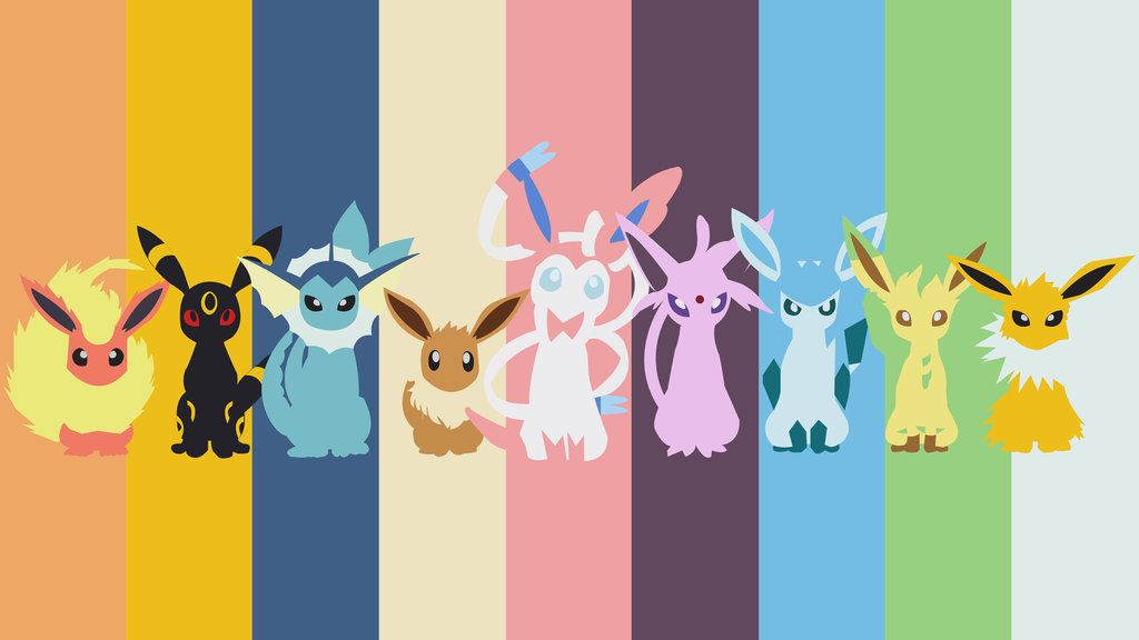 Eevee Wallpaper Pokemon Eevee Wallpaper Pokemon Flareon Pokemon