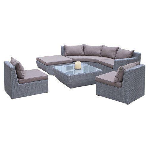 Home Loft Concept Trabuco 7 Piece Deep Seating Group Patio