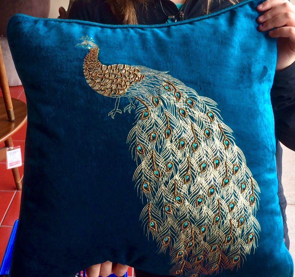 pier 1 peacock pillow online