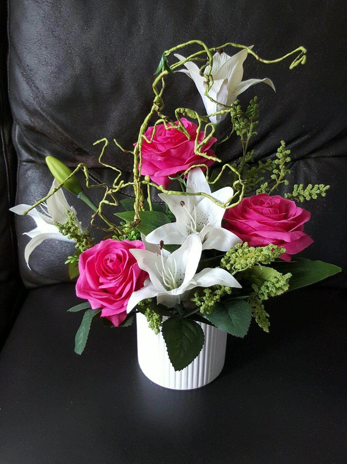 Artificial Flower Flower Arrangements Pinterest Artificial