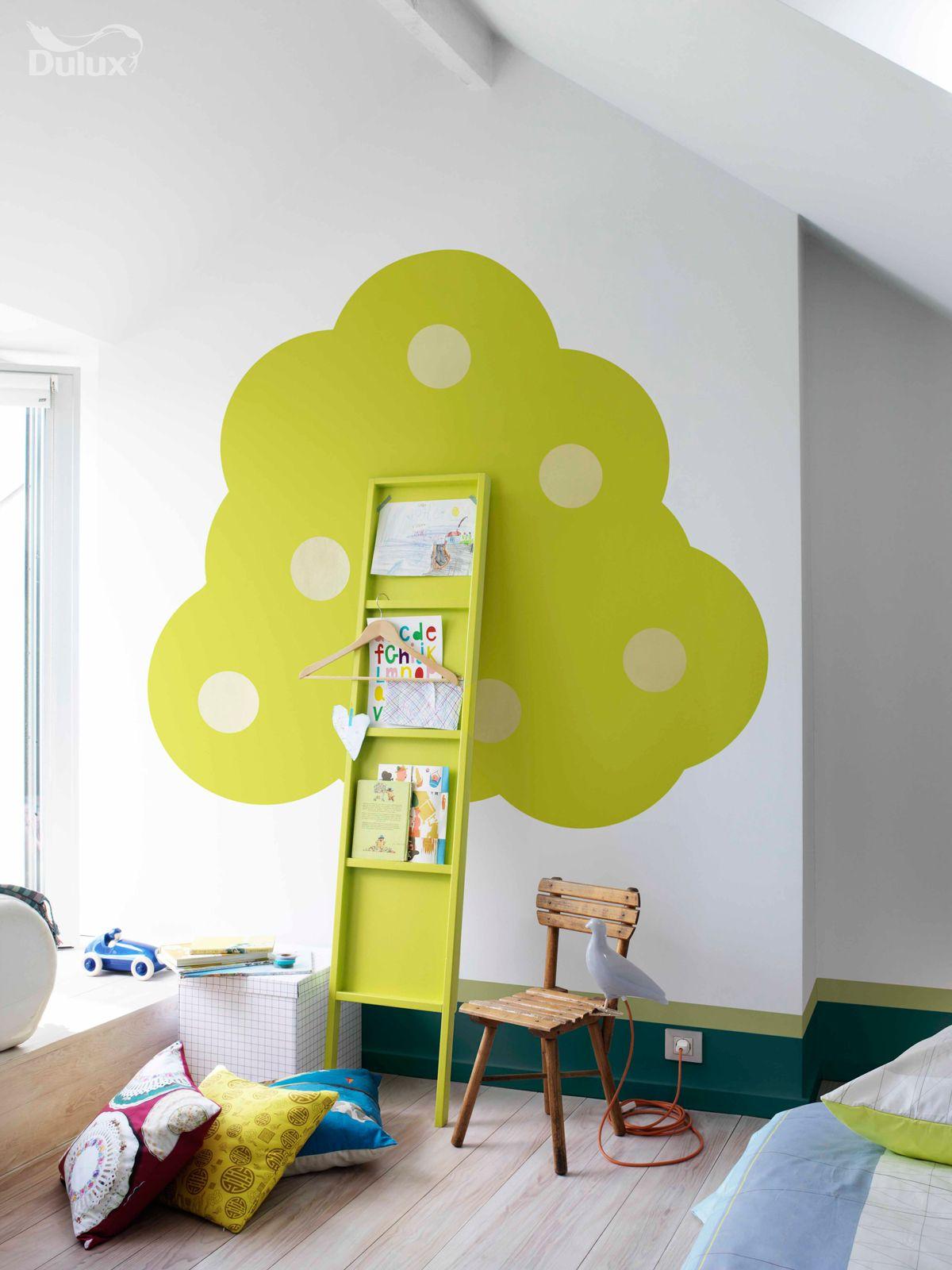 Diy Bookshelf Tree  So Sweet For A Childs Room