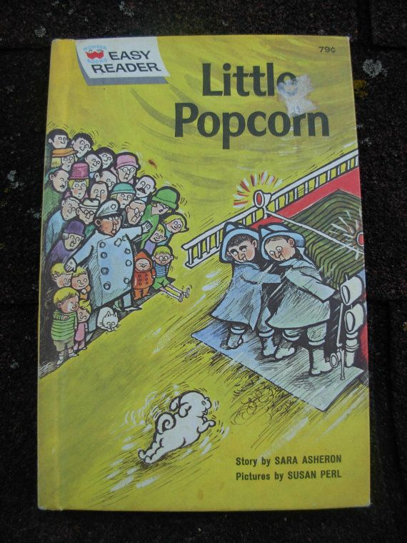 Little popcorn childrens books/1960s by usedbutnotabused on Etsy