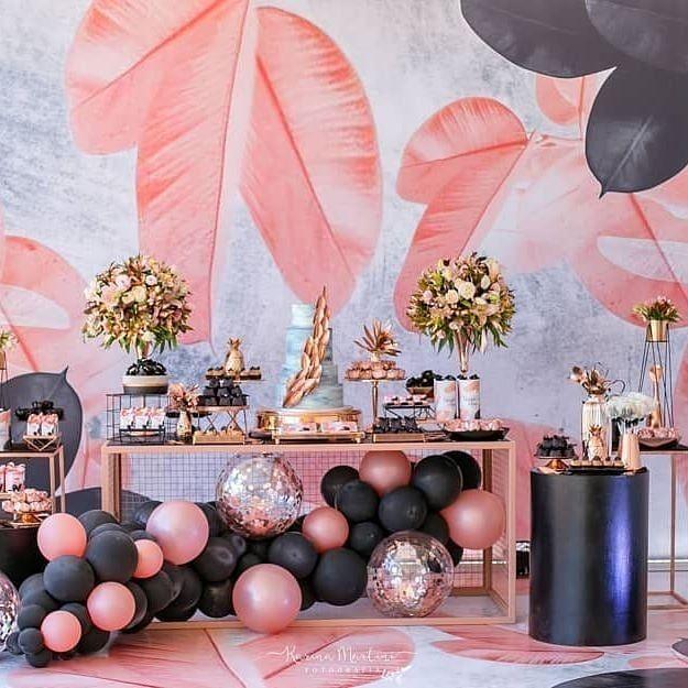 """@ party.nook auf Instagram: """"Ich finde das Styling dieser Geburtstagsfeier für Mädchen absolut klasse. Die Kulisse gibt einen wunderbaren Ton für die Veranstaltung; kostenloses Styling ist ... """""""