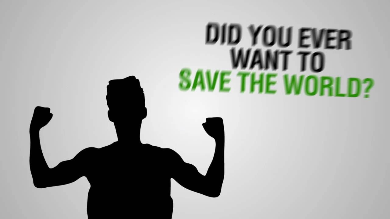You can Save the World - Kinetic Typography | Kinetic Typography ...