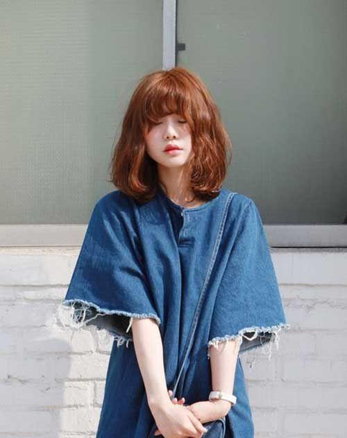 10 Korean Bob Haircut Bob Haircut And Hairstyle Ideas Hair Color Blue Medium Hair Styles Girl Short Hair