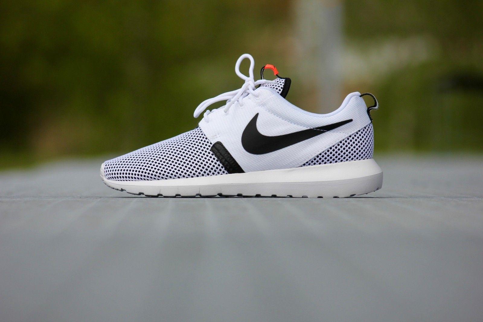 new concept c4a50 3e546 Nike Roshe NM BR White  White Black-Hot Lava - 644425-100