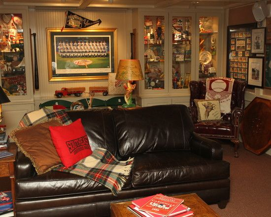 Perfect Collectible Space Basement Design Pictures