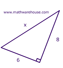 Right Triangles, Hypotenuse, Pythagorean Theorem