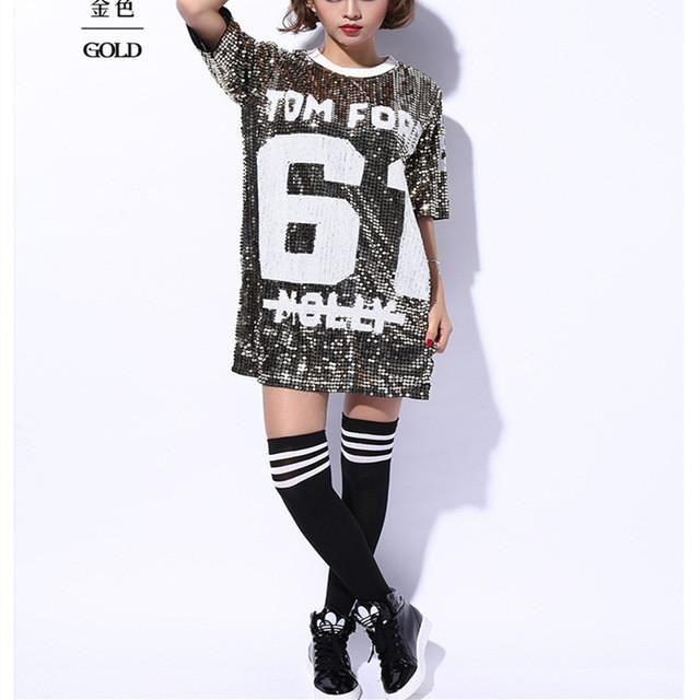 57625d6e Tom Ford m̶o̶l̶l̶y̶ number 61 jersey sequin dress | RKCB Women's ...
