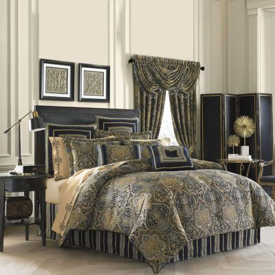 Queen Street® Valentino 4-pc. Chenille Comforter Set | Queen ...