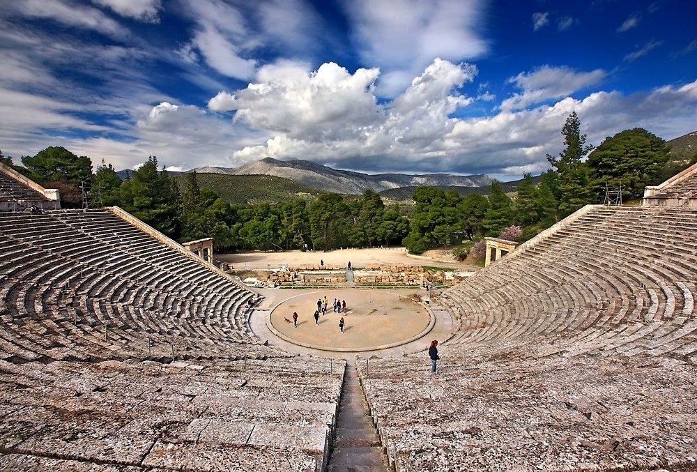 """The Ancient Theater of Epidaurus"" by Hercules Milas"