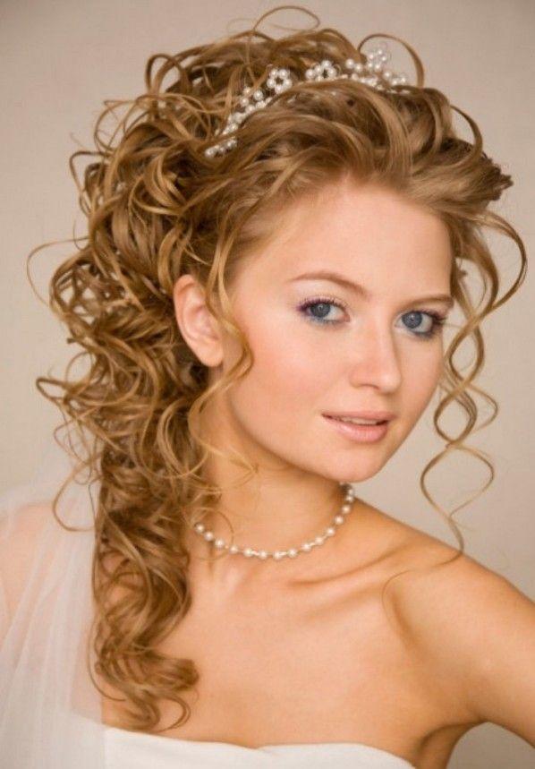 peinados de boda para cabello largo por