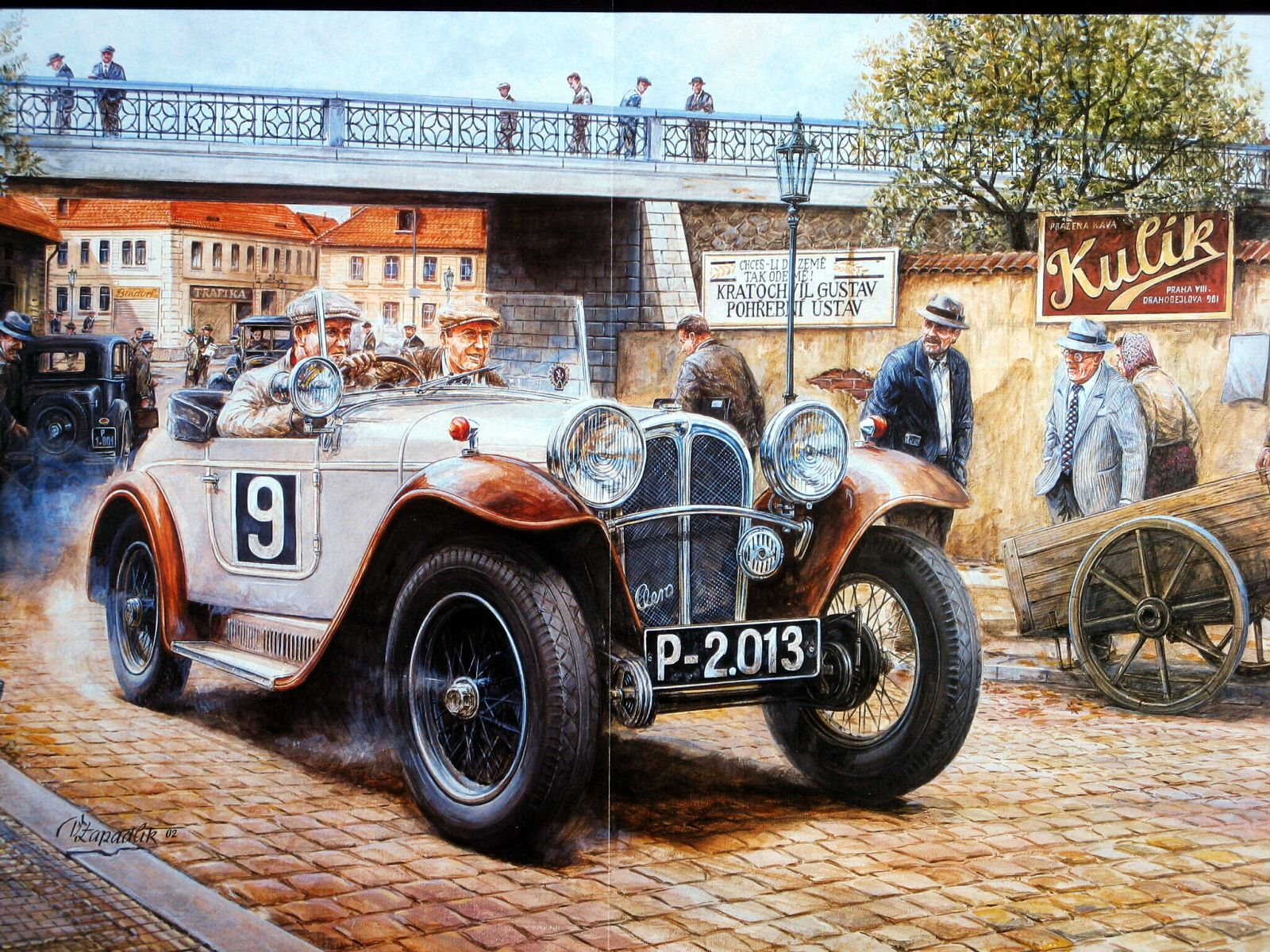 Vintage Racing Art (18/20) | Boys/Men vintage art | Pinterest ...