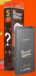 Concorso Pocket Coffee vinci Fornitura e Power Bank