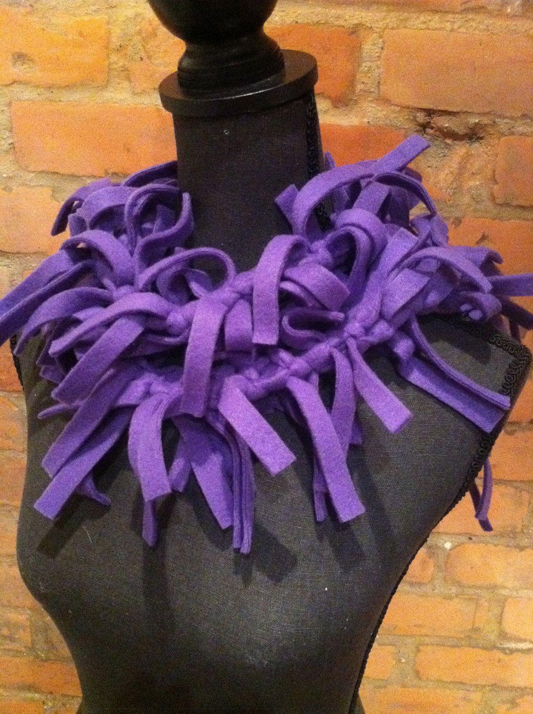 purple passion purple scarf neckwarmer