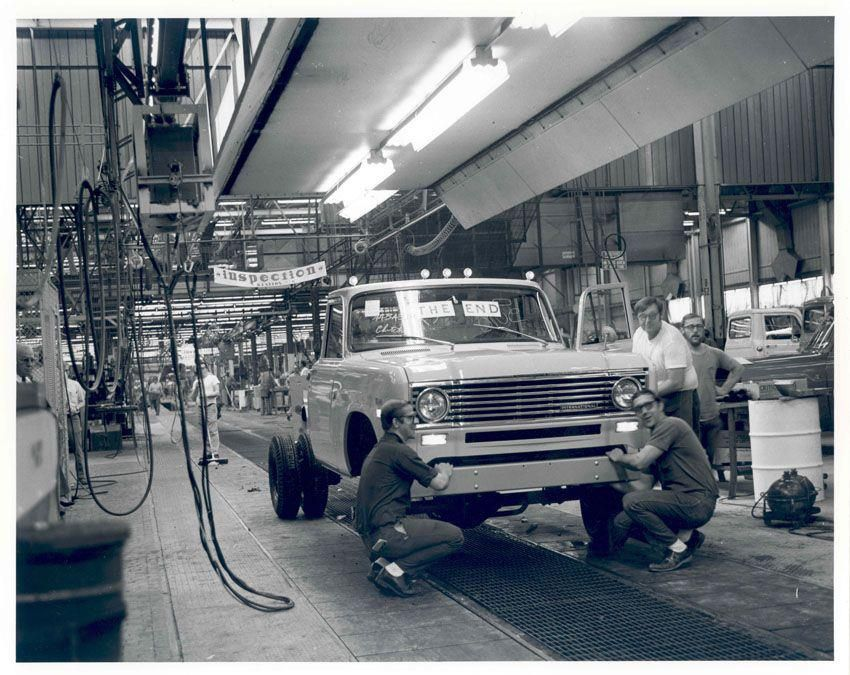 Springfield Car Dealerships >> IH 500, last one produced at Springfield plant | International pickup truck, International ...