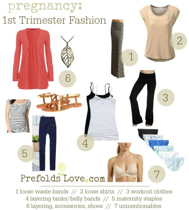 First Trimester Fashion on Pinterest