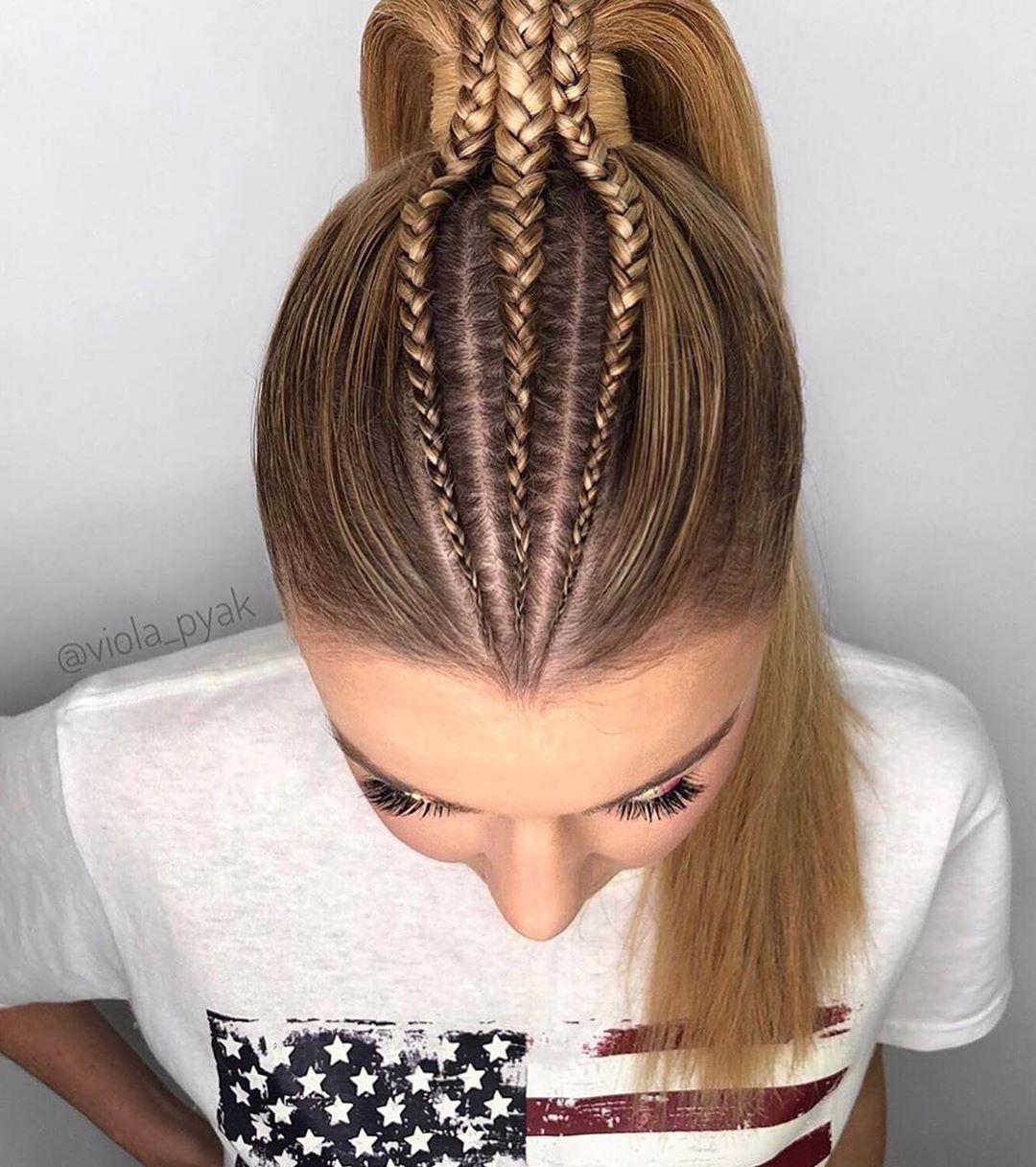 23 Gorgeous Hairstyles For Long Hair | Peinados hair styles, Lustrous hair