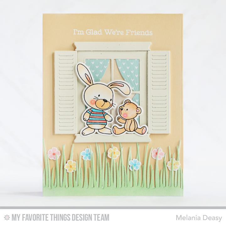 quality design 92607 dcf31 Snuggle Bunnies, Snuggle Bunnies Die-namics, Classic Window Die-namics,  Tall Grassy Edges Die-namics, Spring Wreath, Spring Wreath Die-namics -  Melania ...