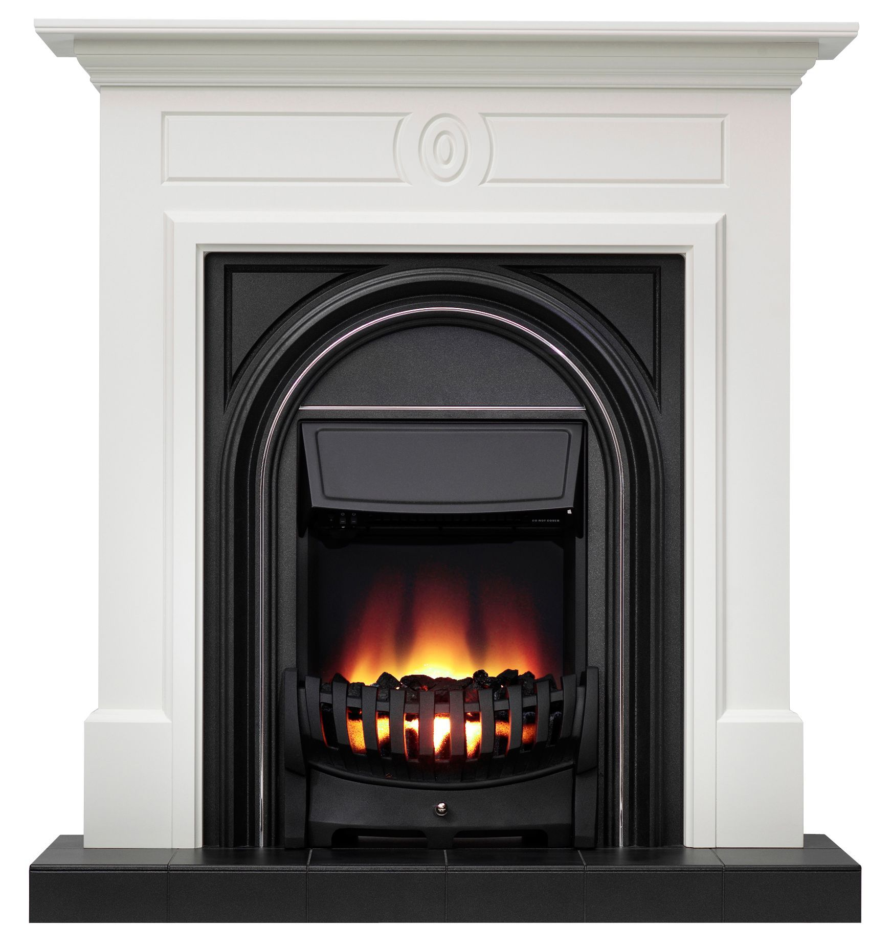 Be modern dalston electric fire suite departments diy at buq
