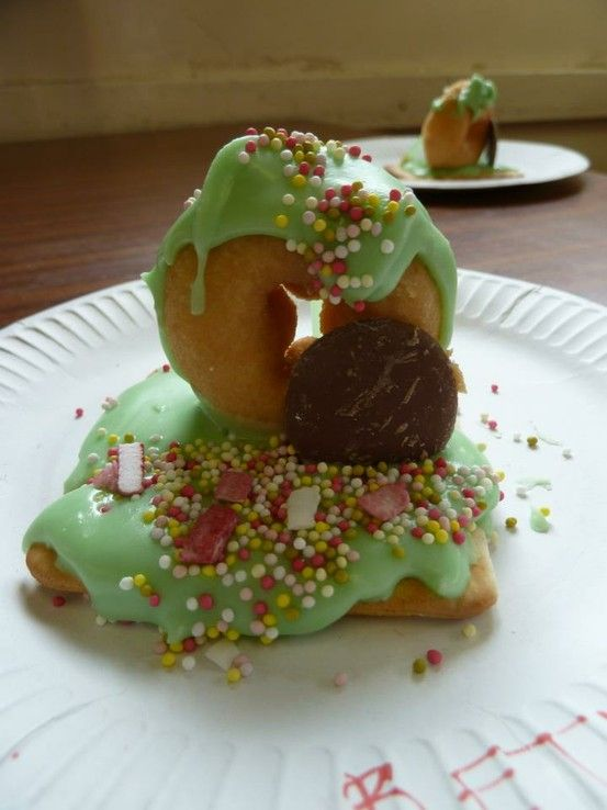 Yummy Easter Resurrection Empty Tomb Food Craft Using Donuts Choc